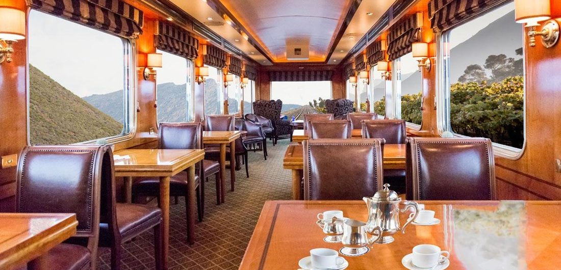 Luxury Trains - The Blue Train