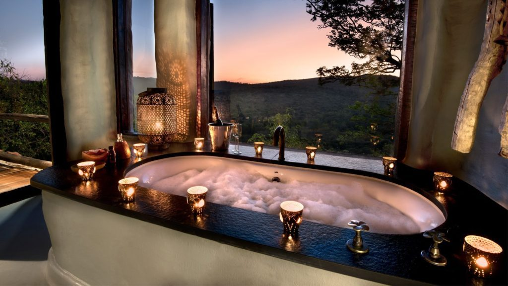 Africa Phinda Rock Lodge Bath